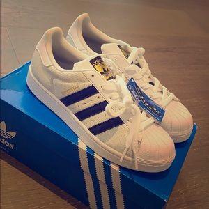 NIB new Adidas Superstar Reptile J sz 7 sneakers